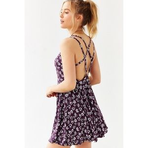 Urban Outfitters Floral Skater Dress